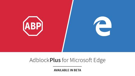 Adblock Plus pour Edge